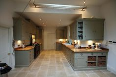 Bespoke Ripon kitchen, handmade by The Main Furniture Company. www.mainfurniturecompany.com