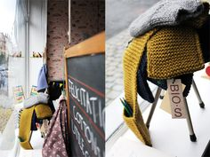 Pocket scarf - on second thought.... knitting this! Or knitting this as well....