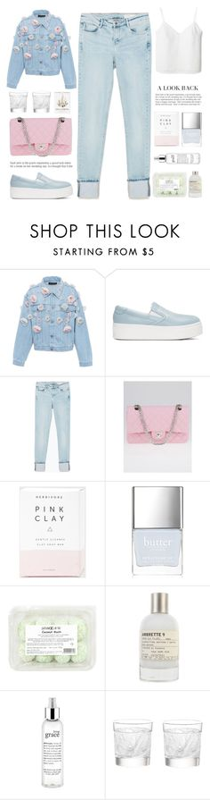 """""""Denk' an Dich und lass' ihn fliegen"""" by nadialesa ❤ liked on Polyvore featuring Anouki, Kenzo, Zara, Chanel, Butter London, Le Labo, philosophy, Lalique and WALL"""
