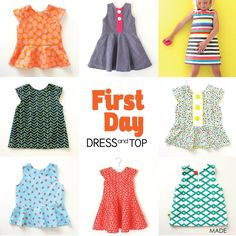 First Day Dress – MADE EVERYDAY