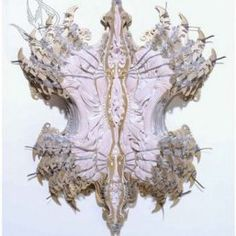I love love love Cathy De Monchaux - Dangerous Fragility Sculpture Art, Sculptures, Feminist Art, Fabric Manipulation, Source Of Inspiration, Online Art, Light In The Dark, Sculpting, Statue
