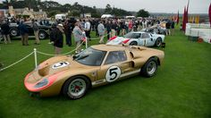 ford gt40s lined up 2016 quail motorsports