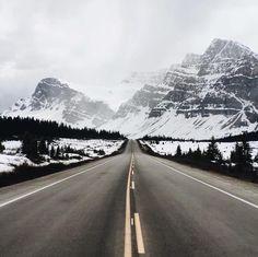 from Banff to Jasper