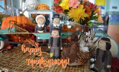 pilgrims Thanksgiving 2016, Pilgrims, Table Decorations, Holiday, Painting, Vacations, Painting Art, Holidays, Paintings