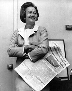 Katherine Graham, Publisher of the Washington Post, 1975