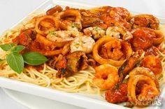 Receita de Spaghetti all mare em receitas de massas, veja essa e outras receitas aqui!