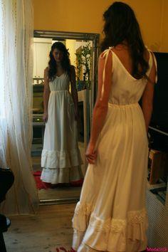 BOHEMIAN DRESSES   Bohemian Wedding Dress 60modalitik