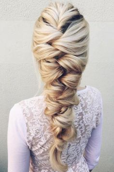 Braid goals by @sova_hair. xo