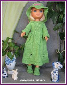 Кукла Нэнси - платье в стиле БОХО! - http://www.moda-kukla.ru/index.php?option=com_content&view=article&id=120:9-&catid=8:knitting1