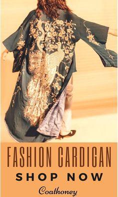 Couture Fashion, Runway Fashion, Girl Fashion, Bohemian Fashion, Pretty Outfits, Fall Outfits, Pretty Clothes, Cardigan Fashion, Jeans Fashion
