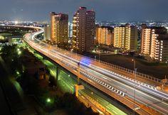 highway(泉大津パーキングエリアより)