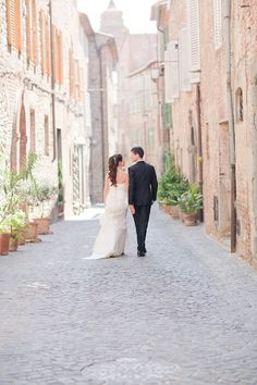 wedding in Umbria, Italy #wedding #italy #old #town