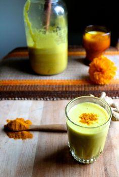 Golden Turmeric Milk - Naked Cuisine