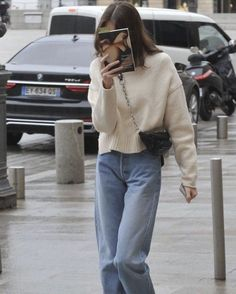 Find images and videos about fashion, style and outfit on We Heart It - the app to get lost in what you love. Look Fashion, Korean Fashion, Winter Fashion, Fashion Outfits, Womens Fashion, Fashion Pants, Oufits Casual, Casual Outfits, Cute Outfits
