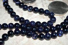 6 mm Goldstone Sandstone Blue Prayer Beads Hand Made Japa Mala - Karma – AwakenYourKundalini