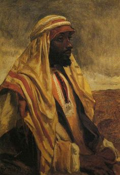 British Paintings: Frederick Goodall - An Arab Tribesman