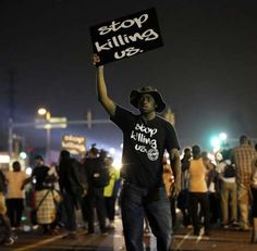 A year ago, most Americans had never heard of the St. But after a white police officer fatally shot a black in the street, the name of the middle-class community became virtually a household word. Ferguson Protest, Ferguson Missouri, United We Stand, Criminal Justice, Photojournalism, Black History, The Book, Frases, Actor