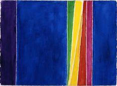 artmagnifique: Alma Thomas.  Atmospheric Effects I, 1970.