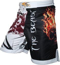 Tigon Sports 'The Beast' MMA Fight Shorts! Available from www.tigonsports.com