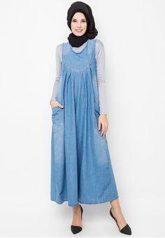 Gamis-Jeans zalora.co.id