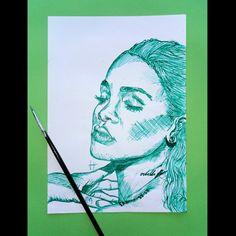 Rihanna Fan, Art For Sale, Fan Art, Portrait, Drawings, Artwork, Things To Sell, Work Of Art, Auguste Rodin Artwork