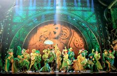 Wicked stage design