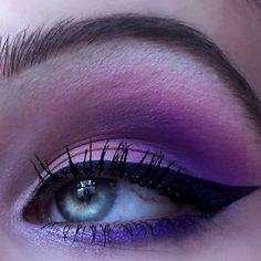 Deep purple and blue tones