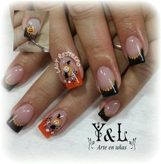 Arte de uñas Yomaira y Lady