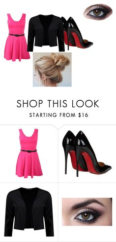 Clothes 12 by bellskids on Polyvore featuring Pilot, Boohoo and Christian Louboutin