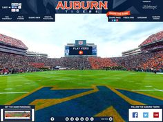 Auburn Tigers Gigapixel - Blakeway Gigapixel | http://gigapixel.panoramas.com/auburn/football/20151031/ - This 360° fan photo captures the views from center field during an Auburn Tigers home game played on Halloween, 2015.