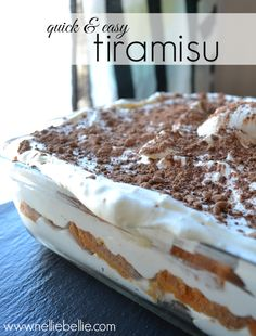 tiramisu2... chill bowl and beaters... first beat cream cheese and powdered sugar.. then add whipping cream, gradually.....buy the large loaf pound cake. I used a rectangle pan