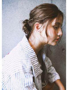 ヘア デザイン ヴェルダ(hair design Verda)【VERDA】 外国人風無造作カット×ブルージュ×束感ロブ