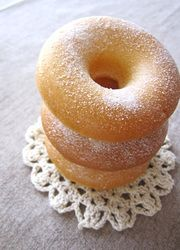 Easy baked donuts using pancake mix that are relatively healthy than their fried counterpart.