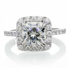 Cushion Cut Engagement Rings Under 2000 50