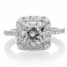 Cushion Cut Engagement Rings Under 2000 50