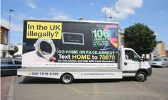 The Home Office anti-immigration billboards are just a publicity stunt