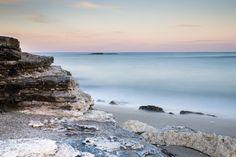 Un angolo della spiaggia di Torre Specchia Ruggeri, marina di Vernole