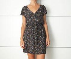 Sewing Patterns Free, Dress Patterns, Free Pattern, Diy Dress, Wrap Dress, Shirt Dress, Diy Vestido, Diy Shirt, Fashion Outfits