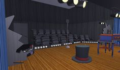Sims, Conference Room, Movie Theater, Table, Furniture, Home Decor, Cinema, Decoration Home, Room Decor