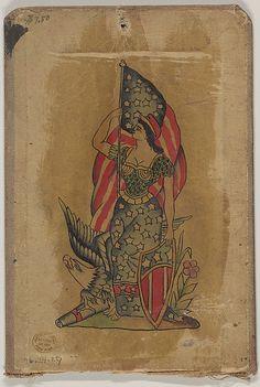 Tattoo Design representing 'America'