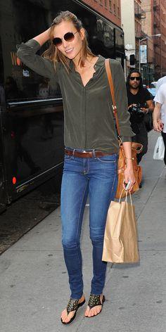 Karlie Kloss In Her Newest Design Collab & The Coolest Summer Sandals