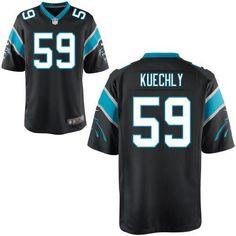 Nike jerseys for sale - Men's Nike Carolina Panthers #59 Luke Kuechly Elite Grey Shadow ...