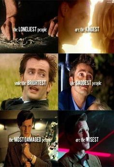 It may be doctor who quote but true