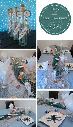 Heute gibts ein paar Impressionen der Meerjungfrauen-Geburtstagsparty meiner Großen. Einladung, Tischdeko, Kulinarisches, Mermaid-Kostüme und Partyspiele… natürlich alles selbstgemacht! Da möchte man doch gern wieder Kind sein, nicht? Liebe Grüße, Bettina