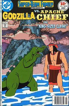 Super-Team Family: The Lost Issues!: Godzilla Vs. Apache Chief