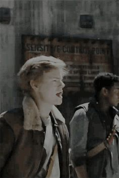 Newt - The Death Cure gif - Alright, I get shotgun.