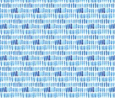 Watercolor Dash Strokes fabric by katebutler on Spoonflower - custom fabric