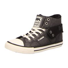 NEU: British Knights Sneaker Roco - B37-3705-03 - black -