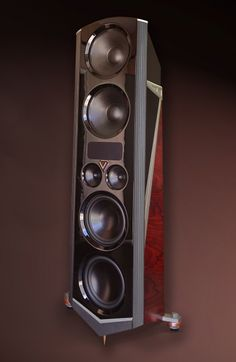 The V high performance speaker system from Legacy Audio is a groundbreaking achievement that unites perfect timing with incredible design.