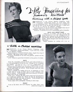 Here is a freescanof Stitchcraft from July 1945. Click the picture to go to the magazine.